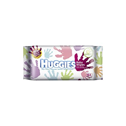 Huggies Everyday 64pieza(s) toallita húmeda para bebé - toallitas húmedas para bebé