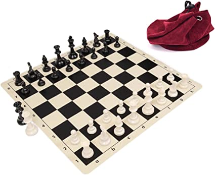 Wholesale Chess Triple Weighted Staunton Colored Pieces White