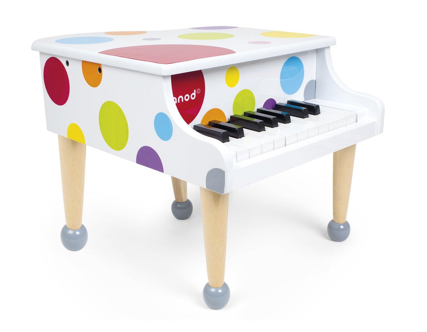 Janod Confetti Grand Piano: Amazon.co.uk: Toys & Games