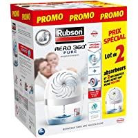 Aero Pure 360° luchtontvochtiger, kleur wit, 2 stuks