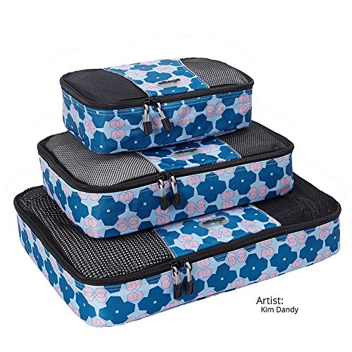 eBags Packing Cubes - 3pc Set (Artist Series Ltd Edition (Packing Aids)