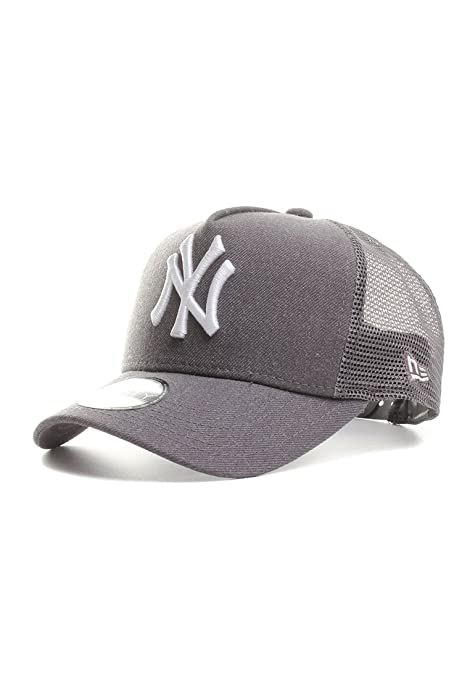 e4038a37b95 New Era Trucker Kids Cap - HEATHER NY Yankees graphit  Amazon.co.uk ...