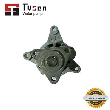 Nuevo aluminio de refrigeración del motor bomba de agua w/para Ford Mazda mercurio 2.3L 2.5L L4: Amazon.es: Coche y moto