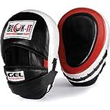 GEL Pratzen: Von Blok-IT --- Perfekt fürs Boxtraining, MMA, Thai Boxen, Kickboxen, Boxübungen, Karate, Taekwon-Do, Krav Maga, Wing Chun & andere Kampfsportarten