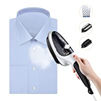 Housmile Steamer for Clothes, Portable Garment Steamer and Steam Iron, Handheld Steamer with Two Brushes, 30s Fast Heated up, Home and Travel