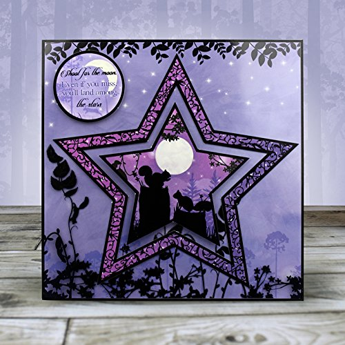 Hunkydory Twilight Forest Under the Stars Topper Set Card Kit TFOR906