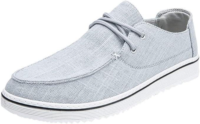 Zapatos Bajos,Talla Grande Zapatillas para Hombre,ZARLLE Zapatos ...