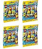 LEGO Minifigures The Simpsons Series 2 - Four Random Packs (71009)