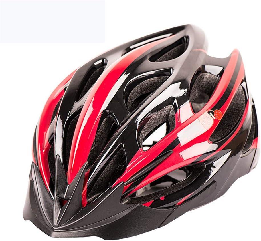 Casco De Bicicleta, Casco De Protección Transpirable Cómodo Y Ligero, Casco Ajustable Poroso, Cómodo Casco De Equitación para Deportes Al Aire Libre