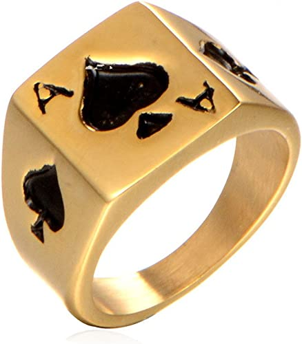Minimalistic Ring Spades Ring Spades Gold Ring Women/'s Rose Gold Ring Spade Rose Gold Ring Spade Ring Spades Silver Ring Gold Ring