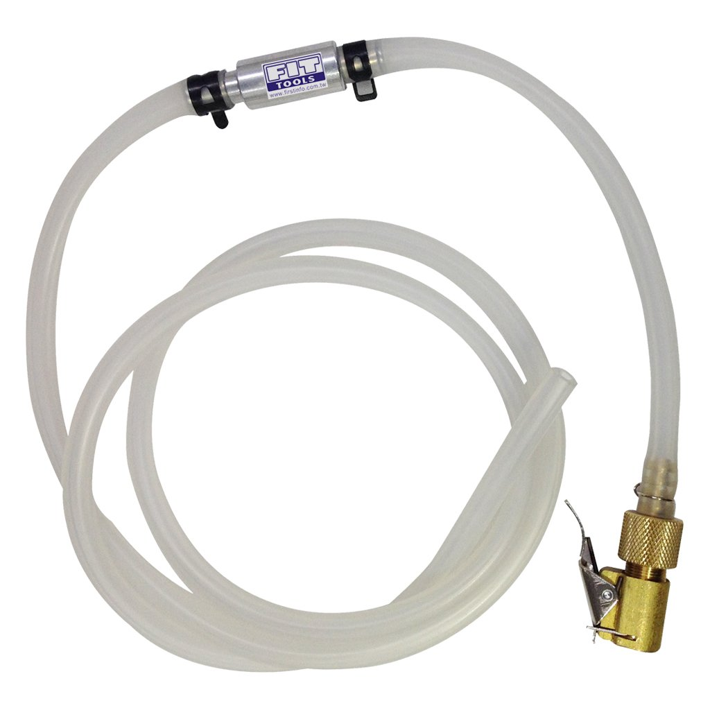 FIT TOOLS Lockable Brake Bleeder Hose with Check Valve Set FIRSTINFO TOOLS Co. Ltd. A11525