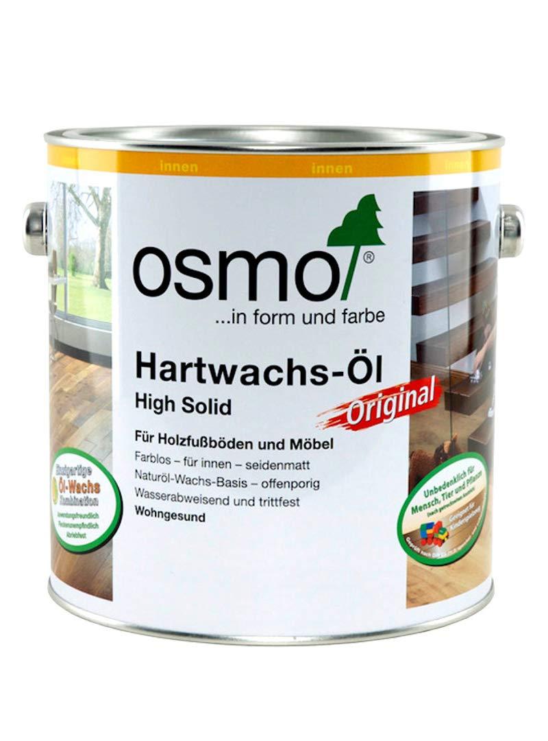 Osmo 3032d 2, 5 L duro cera aceite para encerado –  transparente satinado 5L duro cera aceite para encerado-transparente satinado