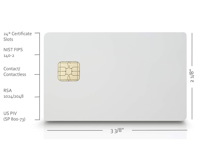 Amazon in: Buy PIVKey C980 Enterprise PKI Smart Card with Mifare