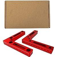 CLIUS L-Eye hoekklem voor hout, vierkant, van aluminiumlegering, bevestiging van platen, hout, legering, laskader…