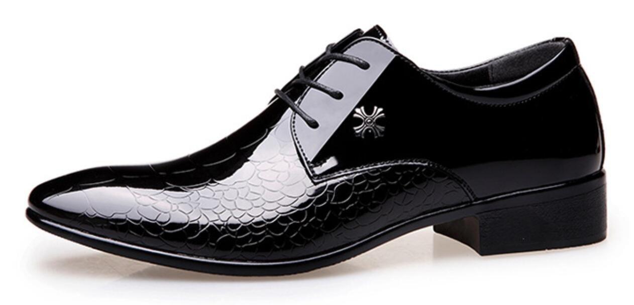 XWZG Zapatos De Traje De Hombre Zapatos De Piel De Serpiente ...