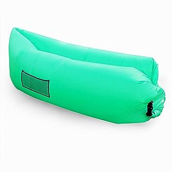 Tumbona Hinchable, al aire libre Aire P.LOTOR Sofá Sofá portátil bolsa de aire Compresión Hangout Bean Bag Tumbona de playa para el verano de la playa ...