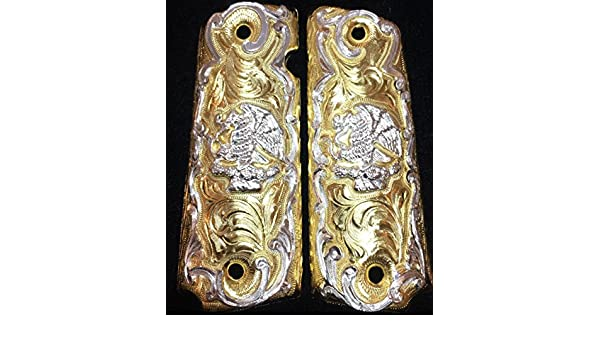 Amazon.com : Blancas Jewelry 1911 Government Commander Gun Grips Eagle Escudo Nacional de Mexico Cacha : Sports & Outdoors