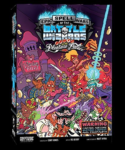 Epic Spell Wars of the Battle Battle Wizards Wars 4: the Panic at the Pleasure Palace [並行輸入品] B07JVR7RQR, タイハクク:33545de6 --- ijpba.info