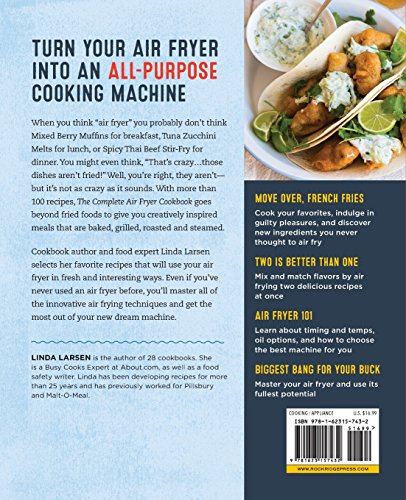 Large Product Image of The Complete Air Fryer Cookbook: Amazingly Easy Recipes to Fry, Bake, Grill, and Roast with Your Air Fryer