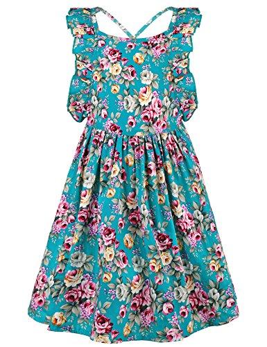Floral Toddler Dress - 9