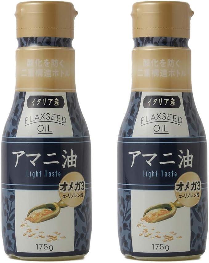 油 アマニ