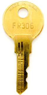 Amazon.com: HON & Allsteel File Cabinet Key Replaced- Pair: Office ...