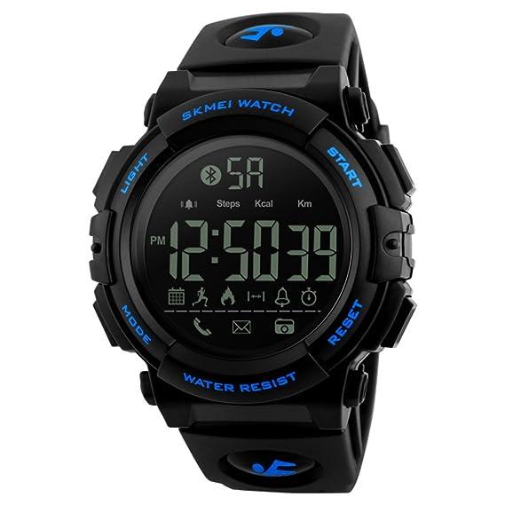 Hombre Smartwatches,Reloj deportivo 50m resistente al agua ...