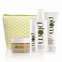 Plum Green Tea Face Care Kit with Free Kit Bag