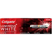 Creme Dental Colgate Luminous White Carvão Ativado 70G, Colgate, 70g