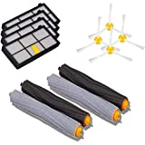 Bluepillows 12PCS Accessories for iRobot Roomba Replacement Parts for iRobot Roomba 800/900 Series861 880 860 870 861 980 885 960 R870060 Robotic Vacuum Cleaner Replenishment Parts Spare Brushes Kit