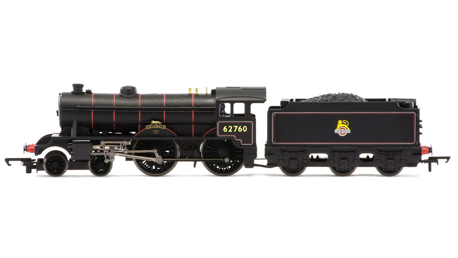 Hornby R3495 Rail Road 4-4-0 The Cotswold D49/1 Class Early BR Train Model Set