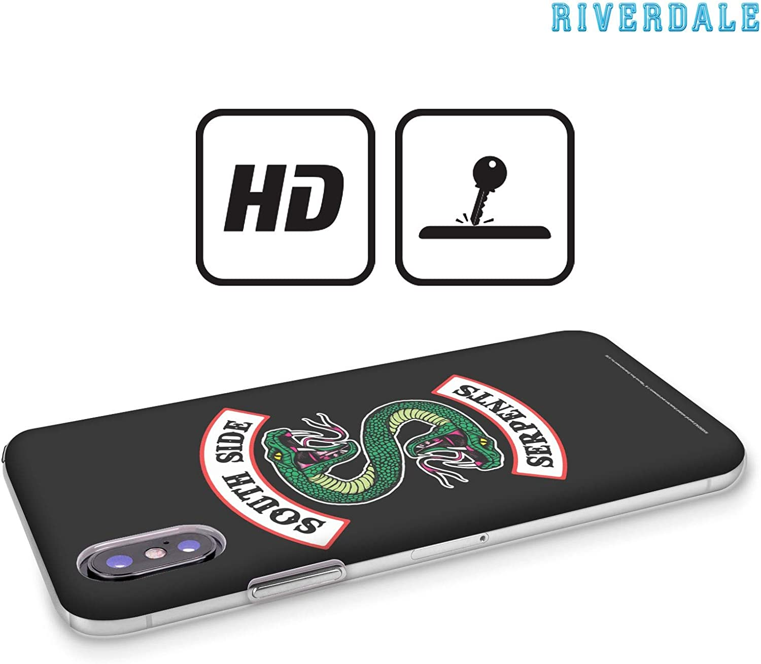 Head Case Designs Oficial Riverdale Serpientes del Lado Sur Arte Gráfico Carcasa rígida Compatible con Apple iPhone XR: Amazon.es: Electrónica