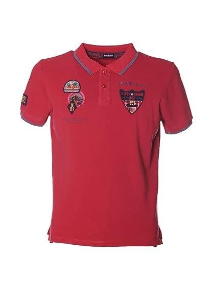 Blauer - Polo - para Hombre Rojo Rosso Talla De La Marca Large ...