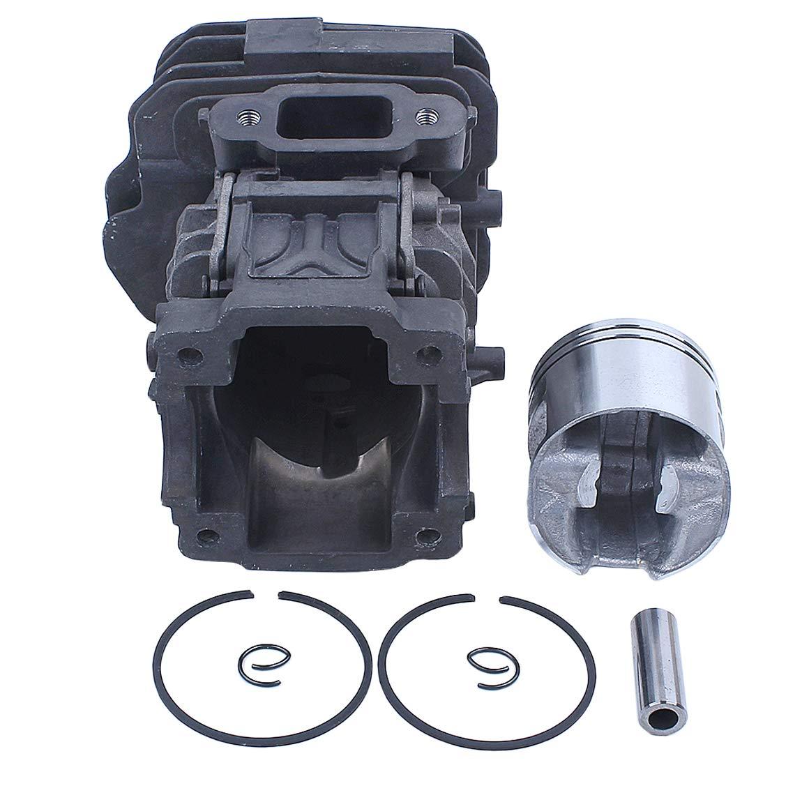Haishine Kit danneaux daxe de piston de cylindre 44 mm Fit Stihl MS251 MS 251 Scie /à cha/îne # 1143 020 1207