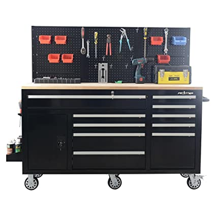 Amazoncom Frontier 62 In 10 Drawer Tool Chest Cabinet With