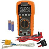 Klein Tools MM400 Multimeter, Auto Ranging Digital Electrical Tester for Temperature, Capacitance, Frequency, Duty-Cycle…