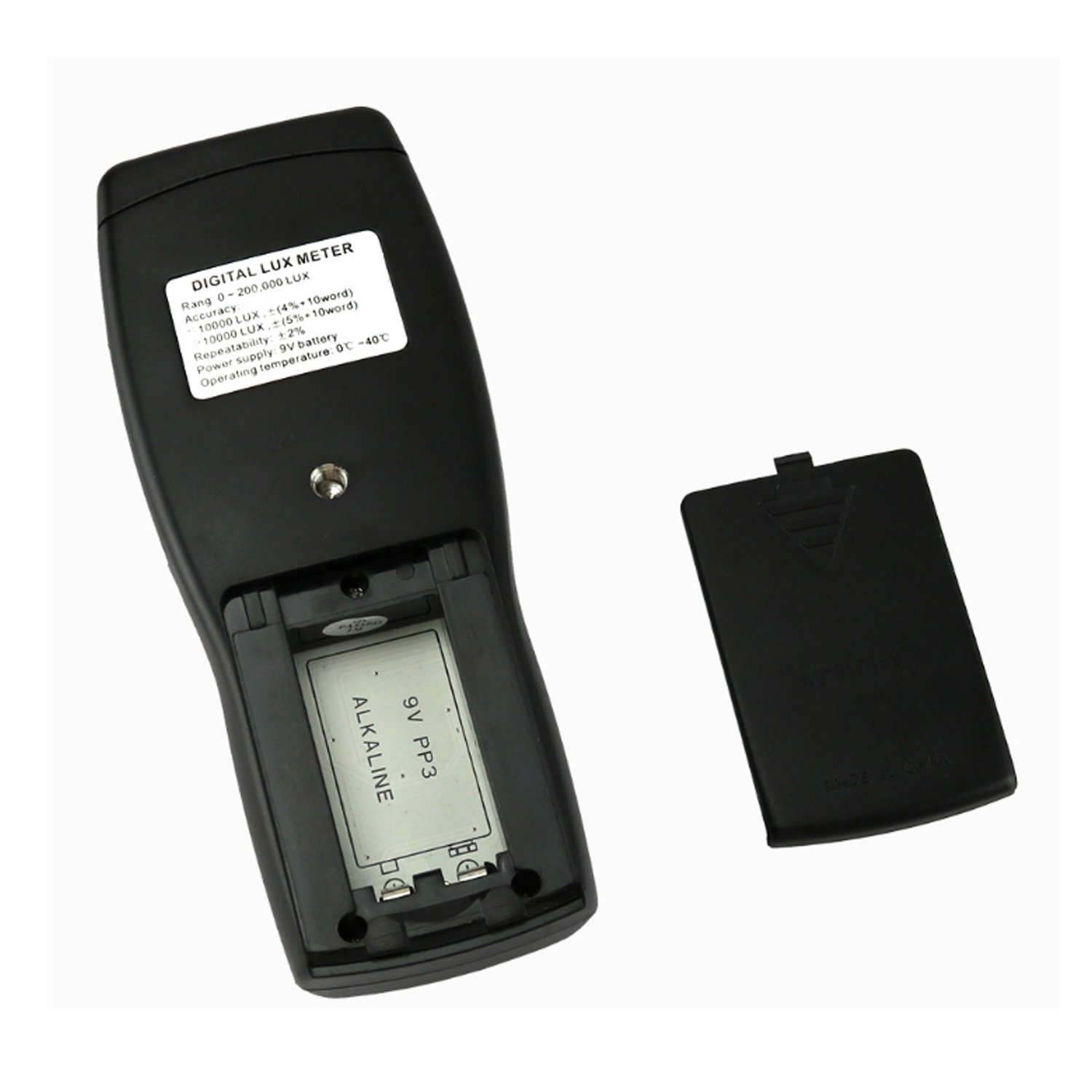 Digital Luxmeter Digital Lux Meter Photometer Illuminometer Spectrometer Spectrophotometer High Precision Light Meter 200,000lux AS823 Digital LCR Meter by YUHUA-Digital Multimeter (Image #5)