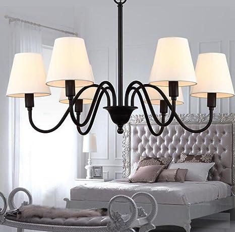 American Country soggiorno lampadario, stoffa moderno e semplice in ...