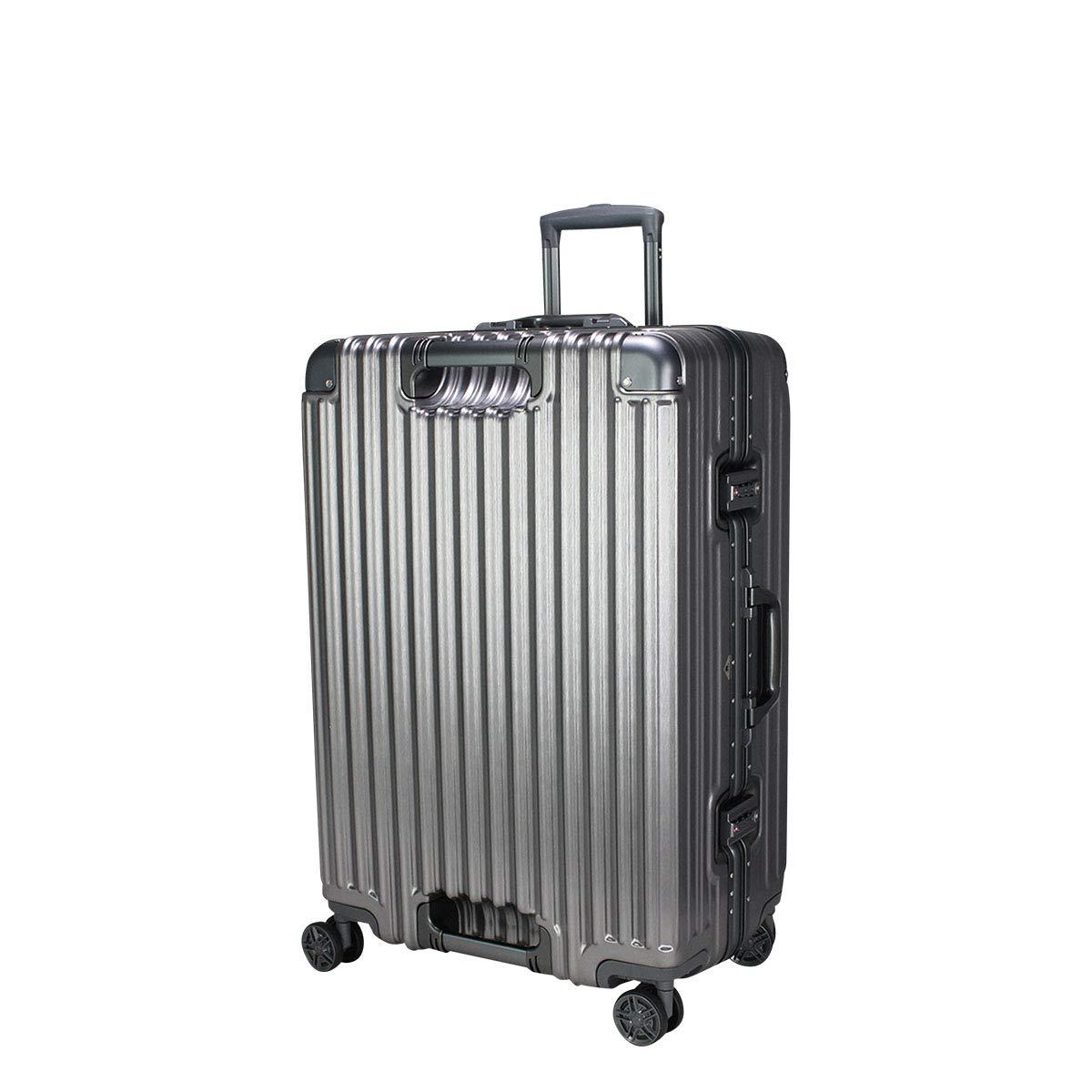 [シフレ] スーツケース トライデント 85L 67cm 5.9kg TRI1102-67 B07NSS9DMP チタン/チタン