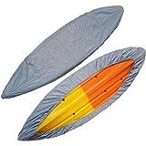 MAYMII Professional Universal Camouflage Waterproof Sunblock Large Storage Dust Cover Shield For (12.6-13.5ft) / (13.8-15ft) / (15.3-16.2ft) 3 Size Range Kayak / Canoe