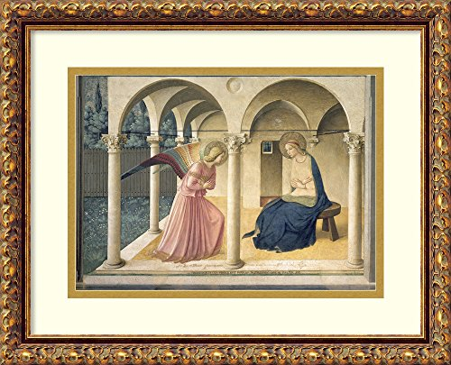 Framed Wall Art Print | Home Wall Decor Art Prints | The Annunciation, c.1438-45 by Fra Angelico | Traditional Decor