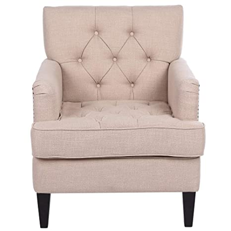 Outstanding Amazon Com Homvent Modern Upholstered Accent Chair Mid Ibusinesslaw Wood Chair Design Ideas Ibusinesslaworg