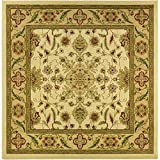 Safavieh Lyndhurst Collection LNH211A Traditional Oriental Ivory and Tan Square Area Rug (8′ Square) For Sale
