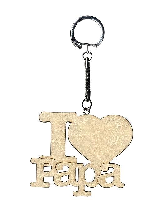 Artemio 14001715 - Llavero de madera con el texto «I Love ...