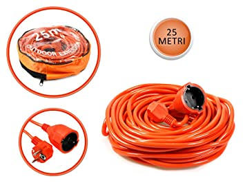 Vetrineinrete® - Cable alargador de corriente para interiores ...
