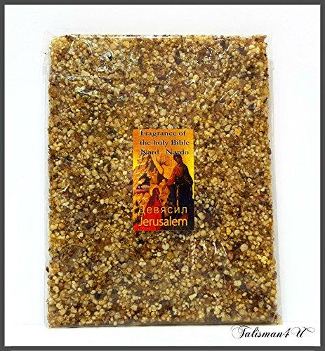 Talisman4U Jerusalem Spikenard Incense Resin Aromatic Nard Of The Holy Land 3.5 oz/100 g