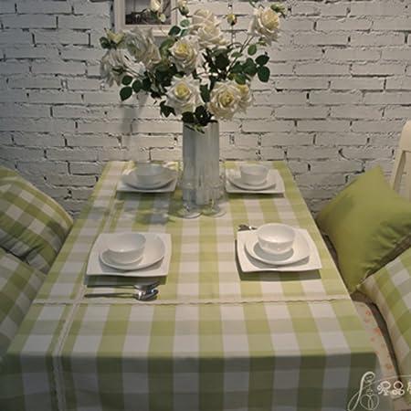el cuadro de tela a cuadros simple y con estilo/manteles de mesa ...