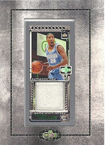 2004 Topps Nba Basketball - ANDRE MILLER AUTHENTIC NBA GAME WORN JERSEY BASKETBALL CARD - 2003 /2004 TOPPS ROOKIE MATRIX BASKETBALL CARD #MR-AM (DENVER NUGGETS) FREE SHIPPING & TRACKING