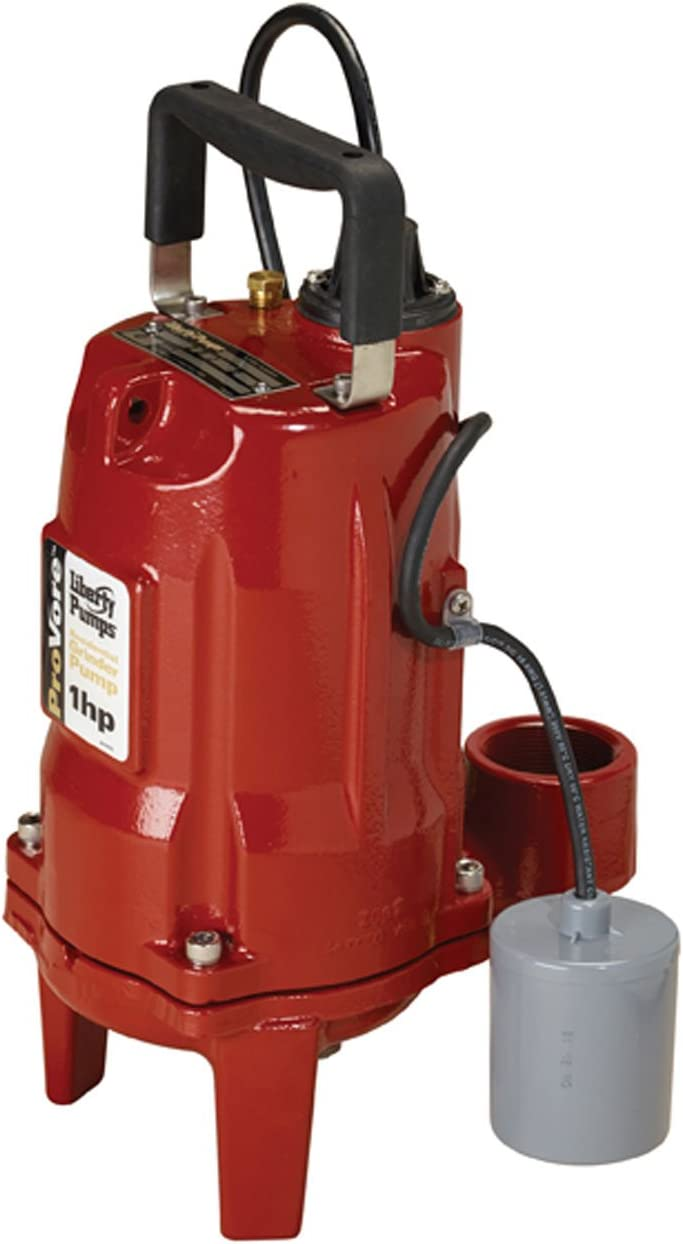 Liberty Pumps PRG102A ProVore PRG Series Automatic Residential Grinder Pump, 1HP, 230-volt