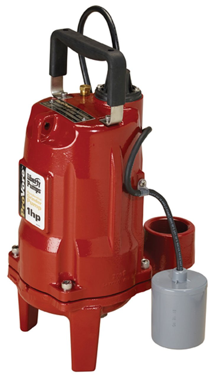 Liberty Pumps PRG102A ProVore PRG Series Automatic Residential Grinder Pump, 1  HP, 230-volt by Liberty Pumps
